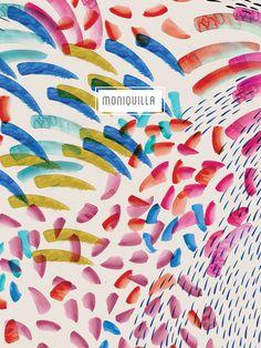 moniquilla pattern design: Avance de colección