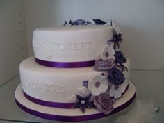 Kleinere taart Purple Cakes, Peacock Wedding, Wedding Cakes, Bridal, Desserts, Google, Board, Flowers, Pastries