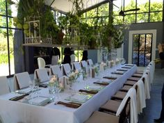 Intimate lunch setting | Exclusive Hire & Events | South Africa
