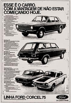 Anúncio Ford Corcel - 1974