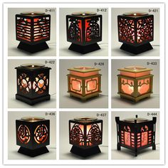 'Chinese' Wooden Electric Scent Oil Diffuser Warmer Burner Aroma Fragrance Lamp | eBay