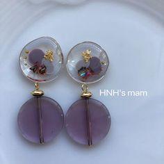 Resin Necklace, Resin Jewelry, Pearl Earrings, Jewellery, Drop Earrings, Resin Crafts, Resin Art, Handmade, Fashion