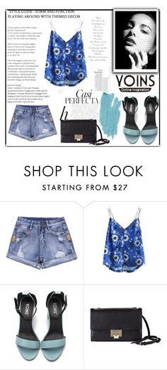 """""""Contest."""" by adna-varesevic ❤ liked on Polyvore featuring Whiteley, Jimmy Choo and Jane Iredale"""