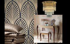 Art Deco Bedroom Scheme