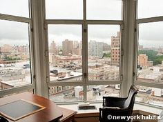 Office view of the Upper West Side near Central Park West :-) Office With A View, New York Office, Upper West Side, Furnished Apartment, City That Never Sleeps, Central Park, New York City, Beautiful Places, Nyc