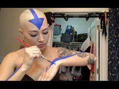 Becoming Aang The Avatar Air Bender | Halloween Costume