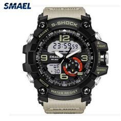 94f0c810af781 SMAEL Men Watch Pedometer Calories Chronograph Fashion Sport Smart Watches  Chronograph Waterproof Digital Wristwatches Mens