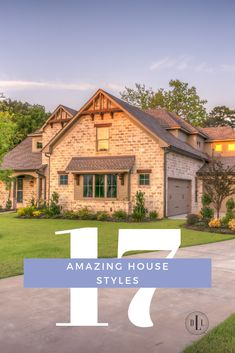 17 amazing house styles to give you a complete guide to finding your house style. Every wonder what your style is? I've compiled 17 traditional, modern, trendy and classic house styles together for you to figure out which is your favorite. Modern Farmhouse Design, Modern Farmhouse Exterior, Farmhouse Contemporary, Craftsman Farmhouse, Tudor Style Homes, Craftsman Style Homes, Home Architecture Styles, Tudor House, Diy House Projects