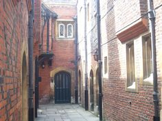 Back Alley in Hampton Court kitchens