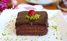 Brownie Cake Recipe – Uncooked yummy cake - new site Cheesecake Brownies, Brownie Cake, Kitchen Words, Healthy Desserts, Yummy Cakes, Cake Recipes, Muffin, Food And Drink, Pudding