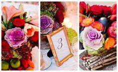 modern jewish wedding centerpiece & florals www.themodernjewishwedding.com #jewish #wedding