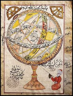 This website addresses anyone seriously interested in astrology. Thema-Kairos offers chart interpretations and astrology tutorials. Islamic World, Islamic Art, History Of Astronomy, Retro, Philosophy Of Science, Buch Design, Les Religions, Arabian Nights, Science Art