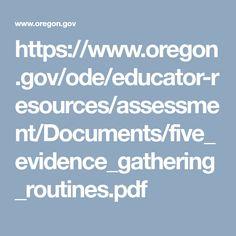 Assessment For Learning, Pdf, Education, Onderwijs, Learning