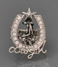 Cowgirl Horseshoe Stretch Ring
