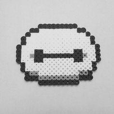 Baymax perler beads by pixelmeup