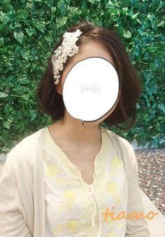 黒髪花嫁さまのナチュラルアレンジ3パターン☆リハ編 の画像 大人可愛いブライダルヘアメイク『tiamo』の結婚カタログ