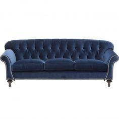 Charles Sofa - Furniture - Sofas - Fabric  - Editor's Picks - Dazzling Nailheads