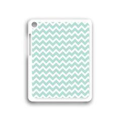 Amazon.com: Mint Chevron Apple iPad mini Case White - Fits iPad mini: Computers & Accessories