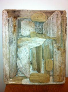 Bruce Feldman's driftwood art