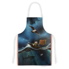 KESS InHouse Graham Curran 'Savages' Artistic Apron, 31 by 35.75', Multicolor *** Check out this great image  : Bakeware