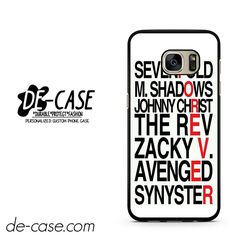 Avenged Sevenfold Quotes Forever DEAL-1191 Samsung Phonecase Cover For Samsung Galaxy S7 / S7 Edge