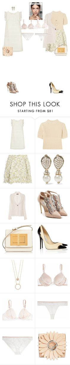 """""""Mika & Ayase #8507"""" by canlui ❤ liked on Polyvore featuring Giambattista Valli, Totême, 3.1 Phillip Lim, Valentino, Proenza Schouler, Olgana, Tom Ford, Jimmy Choo, Kate Spade and STELLA McCARTNEY"""