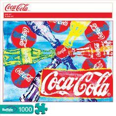 "Coca-Cola ""Pop Art"" 1000 Piece Jigsaw Puzzle"