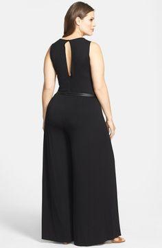'Anwer' Jumpsuit (Plus Size) Curvy Girl Fashion, Plus Size Fashion, Emo Fashion, Plus Size Dresses, Plus Size Outfits, Mini Dresses, Ball Dresses, Plus Size Blog, Plus Size Jumpsuit