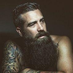 I bet he had some red in his beard as he let it grow I Love Beards, Great Beards, Beard Love, Awesome Beards, Long Beards, Bad Beards, Beard Styles For Men, Hair And Beard Styles, Hair Styles