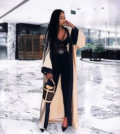 "blackbarbiexoxo: ""Classy and elegant "" Girls Winter Fashion, Spring Fashion Casual, Black Girl Fashion, Fall Fashion Outfits, Look Fashion, Fashion Kids, Classy Fashion, Black Girl Style, 80s Fashion"