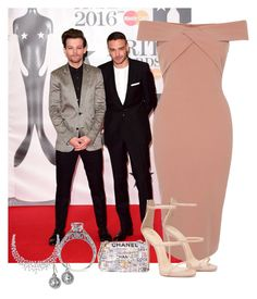 """""""Brits With Liam And Louis"""" by narohllian ❤ liked on Polyvore featuring Monica Rich Kosann, River Island and Chanel"""