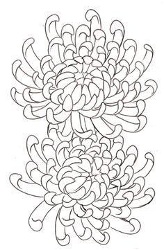 Chrysanthemum Flower Tattoo 14 by ~Metacharis on deviantART