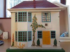 Vintage 1960 S Dolls House. .....Rick Maccione-Dollhouse Builder www.dollhousemansions.com