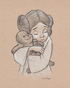 """We'll Be Alright"" Star Wars/Rescuers mashup print by James Hance, $15.  This. Is. The. Cutest."