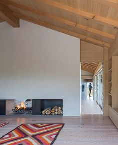Jackson Hole II, Wyoming Living Room - McLean Quinlan Architects