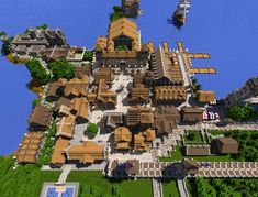 I have always wanted to do this, but then I am left with the que… Minecraft town. I have always wanted to do this, but then I am left with the question how… Minecraft Poster, Memes Minecraft, Craft Minecraft, Cute Minecraft Houses, Minecraft Houses Blueprints, Minecraft Plans, Minecraft House Designs, Minecraft Decorations, Minecraft Construction
