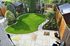 Image result for very small garden ideas