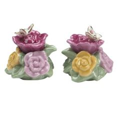 Royal Doulton-Royal Albert Old Country Roses Butterfly Salt and Pepper Shaker by Royal Doulton. $25.23. Royal Albert Old Country Roses Butterfly salt and pepper shaker. Safe to use in dishwasher. Mix and match with old country roses. Porcelain with hand painted 22-carat gold stippling trim. Royal Albert's Old Country Roses is one of the most popular bone china patterns ever produced. A design classic, with a lavish 22-carat gold border is adorned by English roses; Old ...