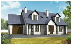 Image result for dormer bungalow ireland house and home front elevation house building dream homes house design house plans retirement exterior blueprints for homes dream houses malvernweather