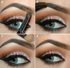 Very easy tutorial to do your eyebrows correctly