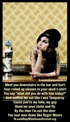 Image result for amy winehouse you know no good bath