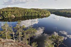 Maisema Sulkavan Linnavuorelta.Landscape in Sulkava Linnavuori Finland. Photo Ismo Pekkarinen #maisema #luonto #sulkava #linnavuori #landscape #nature #finland