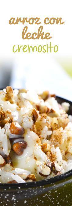 Te presentó una receta de arroz con leche super cremosito y delicioso, acuérdate de tu niñez con esta rica receta. Este rico postre está bien fácil de preparar y tiene el sabor tradicional mexicano que tanto te gusta. ¡Riquísimo!