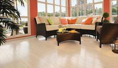 Red Oak Alaska - Inspiration Collection by Mirage Floors Hardwood Floors, Flooring, Outdoor Furniture Sets, Outdoor Decor, Red Oak, Valance Curtains, Alaska, Table, Hard Wood