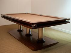 Modern Pool Designs and 3 Things Every Pool Owner Should Know – My Life Spot Pool Table Dining Table, Pool Table Room, Billard Table, Best Pool Tables, Play Pool, Modern Pools, Billiard Room, Entertainment Room, Ideas