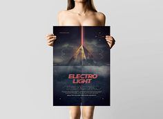 Electro Pyramid Posters