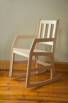 Modern Rocking Chair Baltic Birch Plywood Rocker от RocketMission