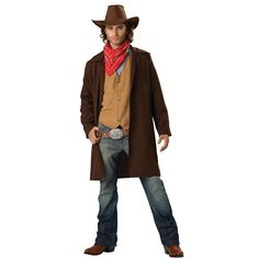 Cowboys, the rugged manly icons of the west. This Rawhide Renegade Cowboy Costume is the perfect look for any man who wants to show off his macho side with a costume that has an authentic look. Featur