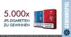 Conny's kleine Wunderwelt: 5000 x JPS Zigaretten zu gewinnen!