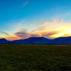 Sunsets from Creek Stone Ranch #creekstoneranch